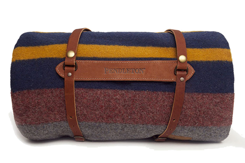 Pendleton Blanket, $135; williams-sonoma.com