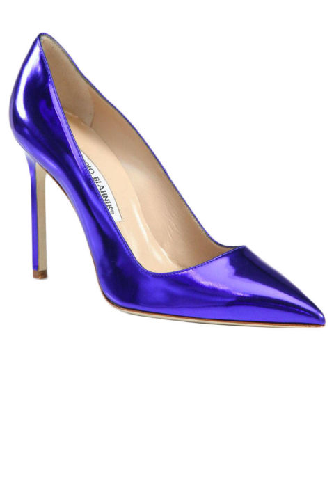 Statement Heels for Spring 2013 - Metallic Bright and Printed Pumps