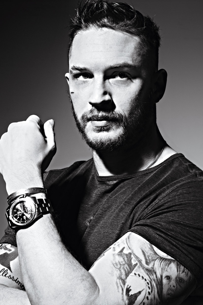 Tom Hardy Talks Grown-...