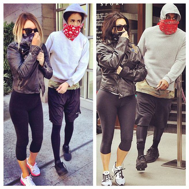 Best Friends Who Dress Up Exactly Like Kim Kardashian And Kanye West