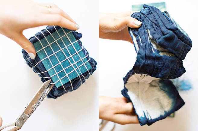 tie dye folding instructions