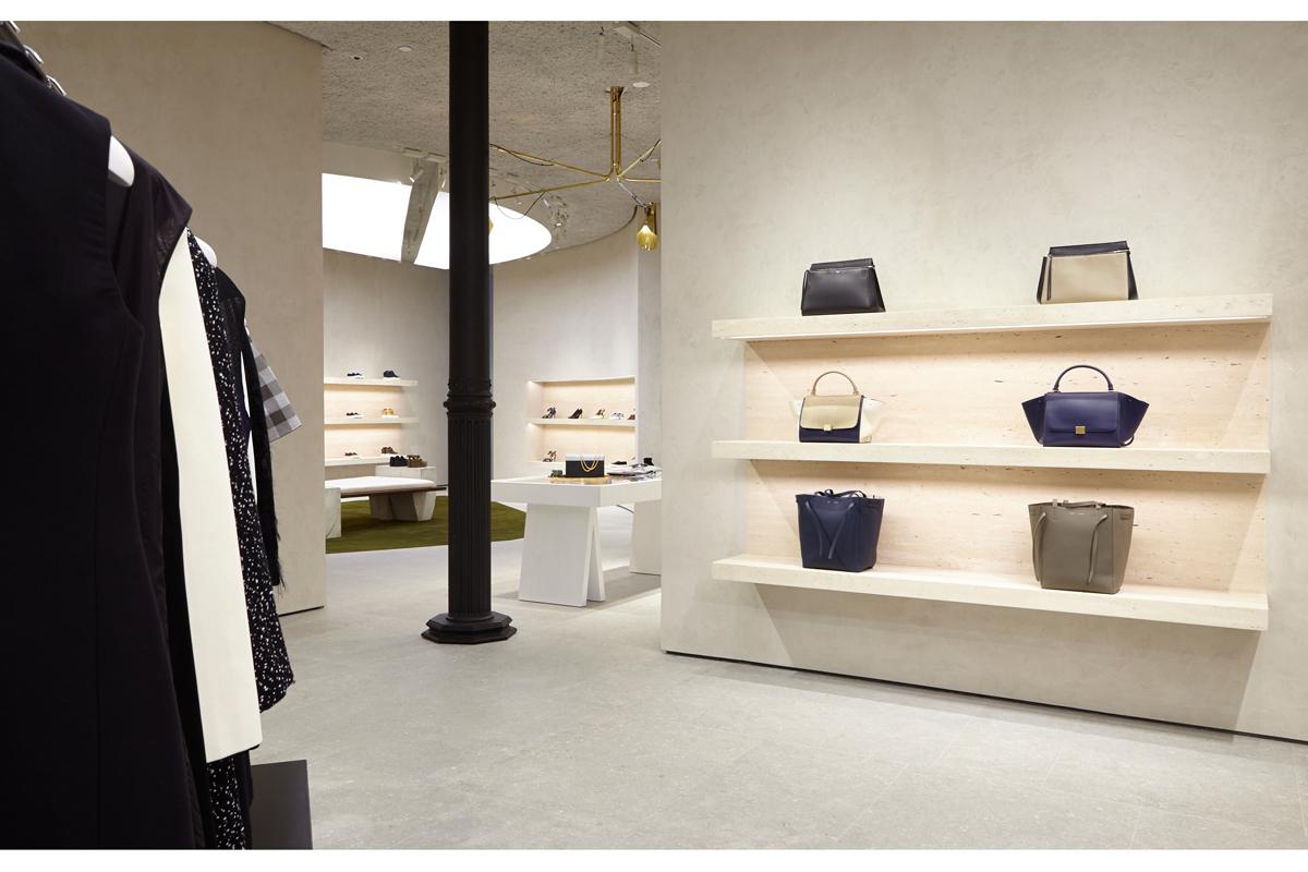 celine opens downtown store in soho. Black Bedroom Furniture Sets. Home Design Ideas