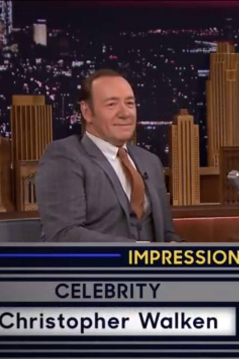 Celebrity Name Game - Bonus Round: Impressions - Kevin ...