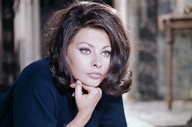 photo getty - Sophia Loren Hair Color