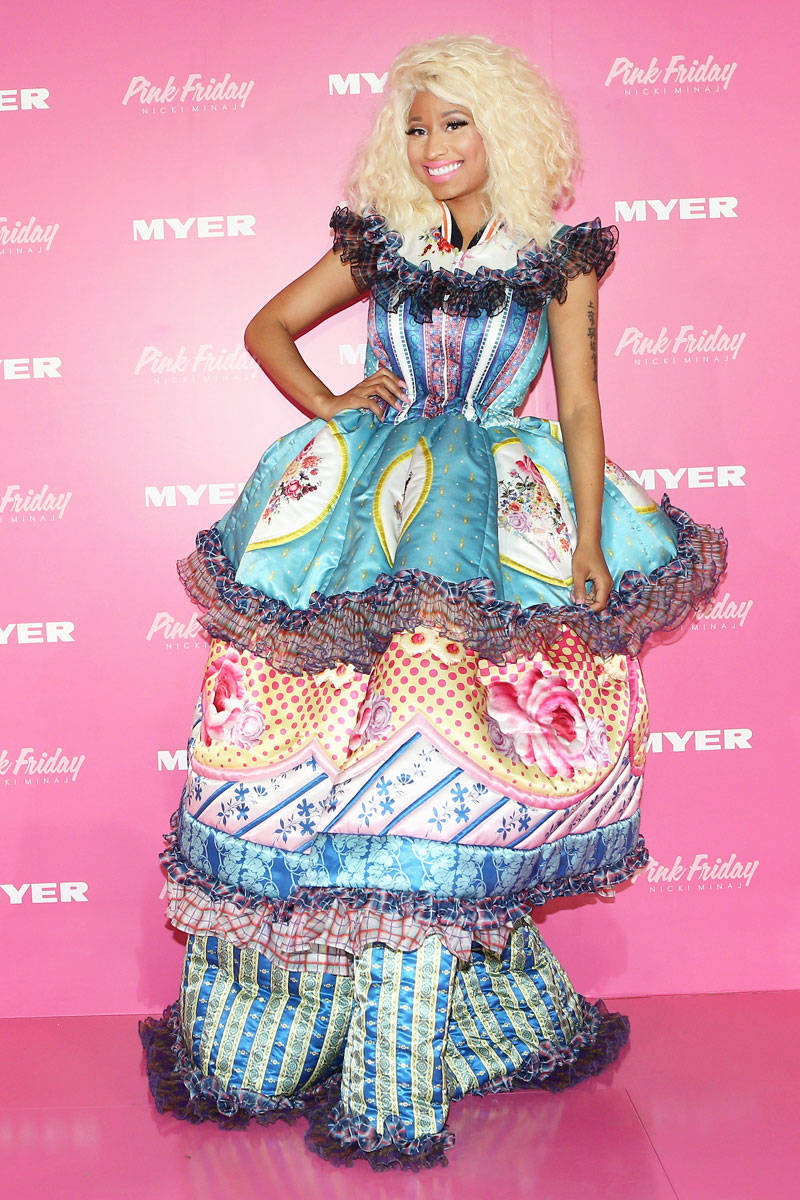 Nicki Minaj Style Fashion Pictures Of