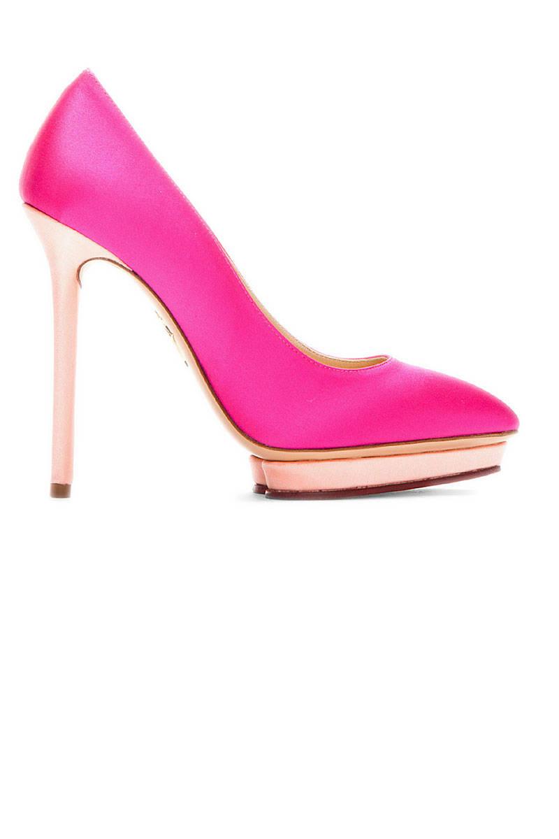 Hot Pink Designer Heels