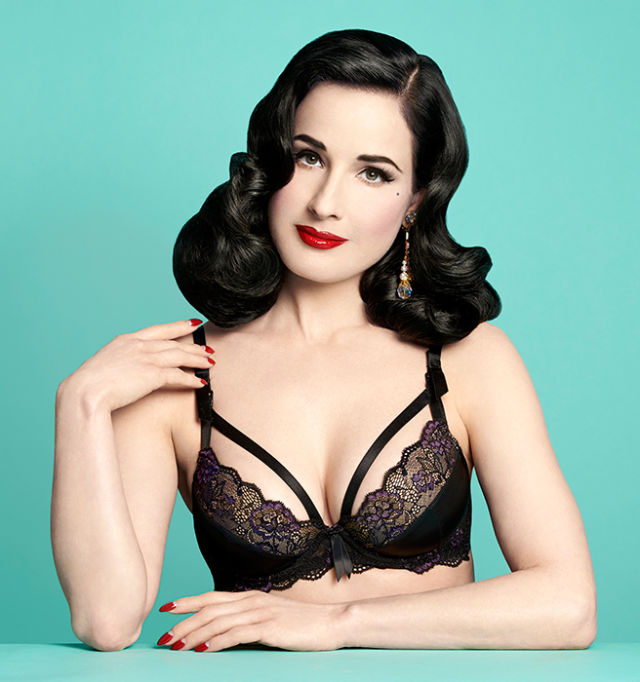 Dita Von Teese Maternity Wear Line-Controversial Lingerie