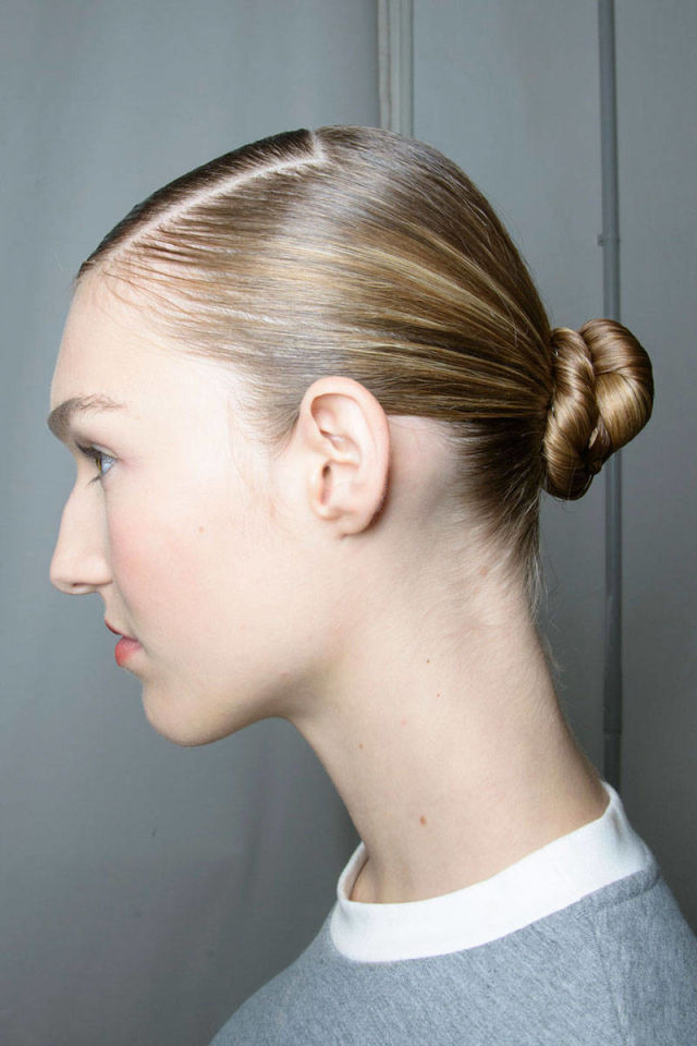 Low Buns Seen on the Runway - Low Bun Hairstyles for Spring