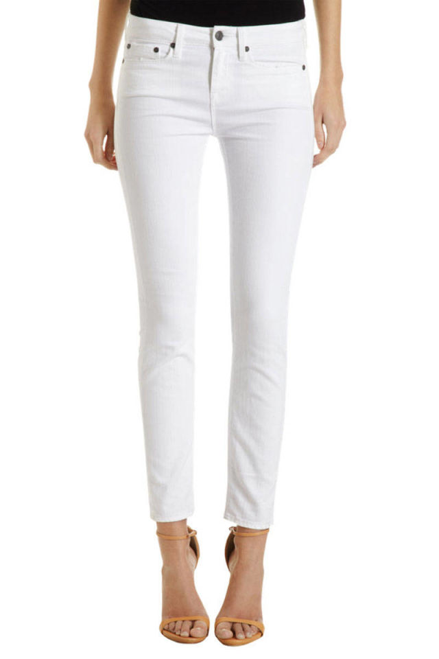 Product - TheMogan Women's Distressed Ripped Mid Rise Crop Raw Hem Skinny Jeans White Product Image. Price $ Product Title. TheMogan Women's Distressed Ripped Mid Rise Crop Raw Hem Skinny Jeans White See Details. Product - WHITE JEANS EDT SP FOR WOMEN. Product Image.