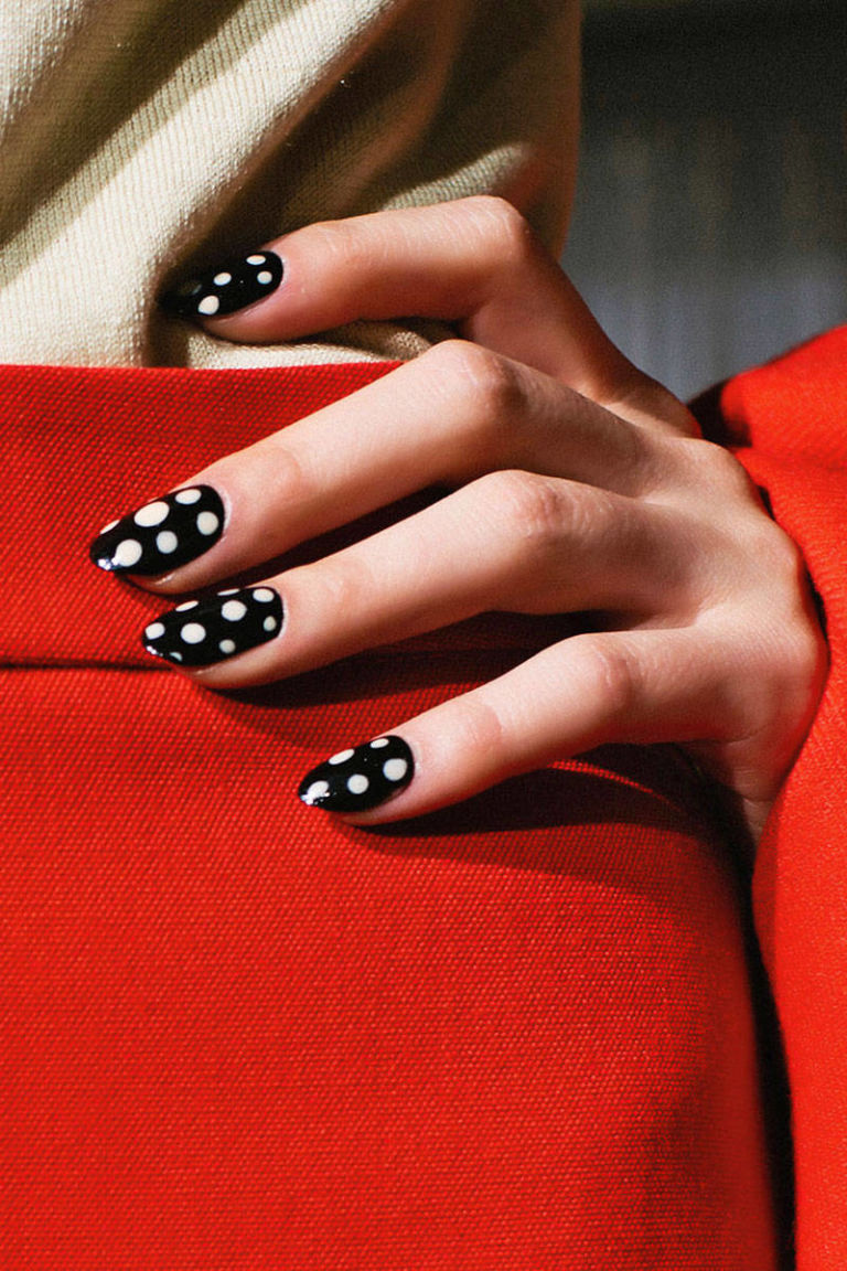 Nail Trends 2018 Long: Runway Nail Trends Fall 2012