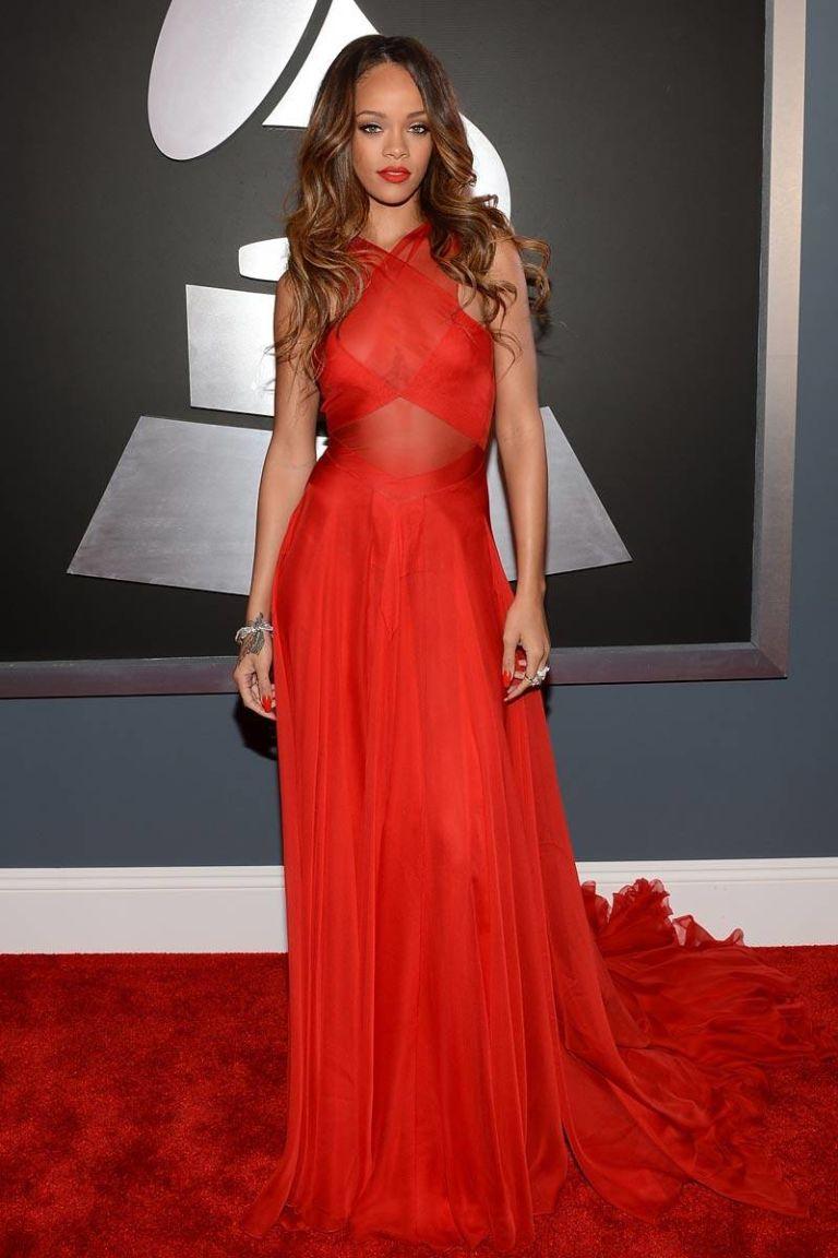 Discount Celebrity Red Carpet Dress Rihanna | Celebrity ...