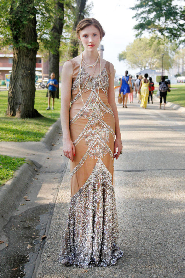 Jazz Age Lawn Party Street Style 1920s Street Style