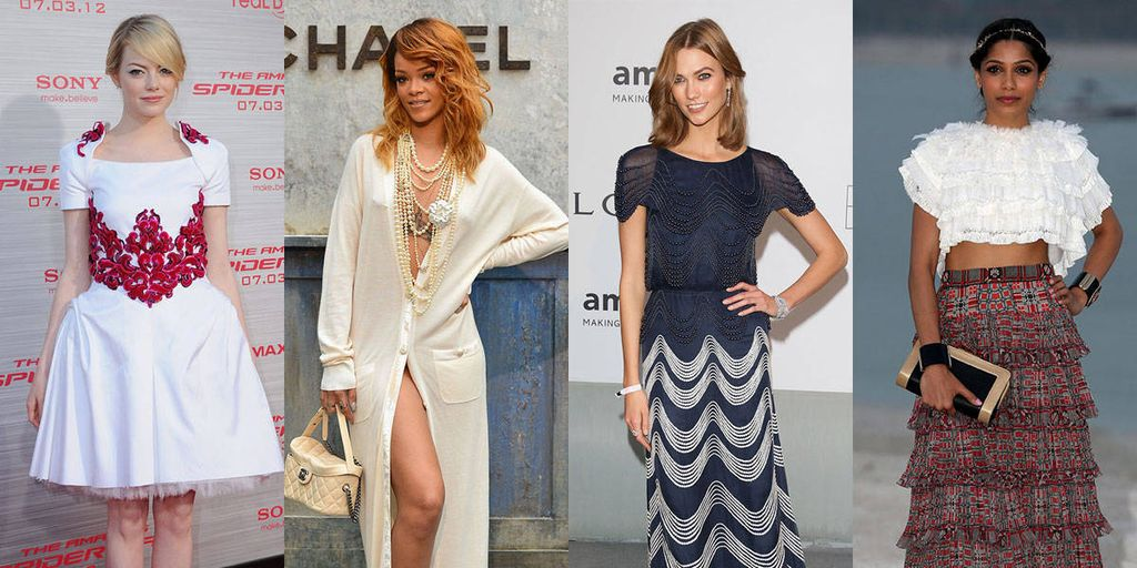 celebrities wearing chanel coco chanels birthday