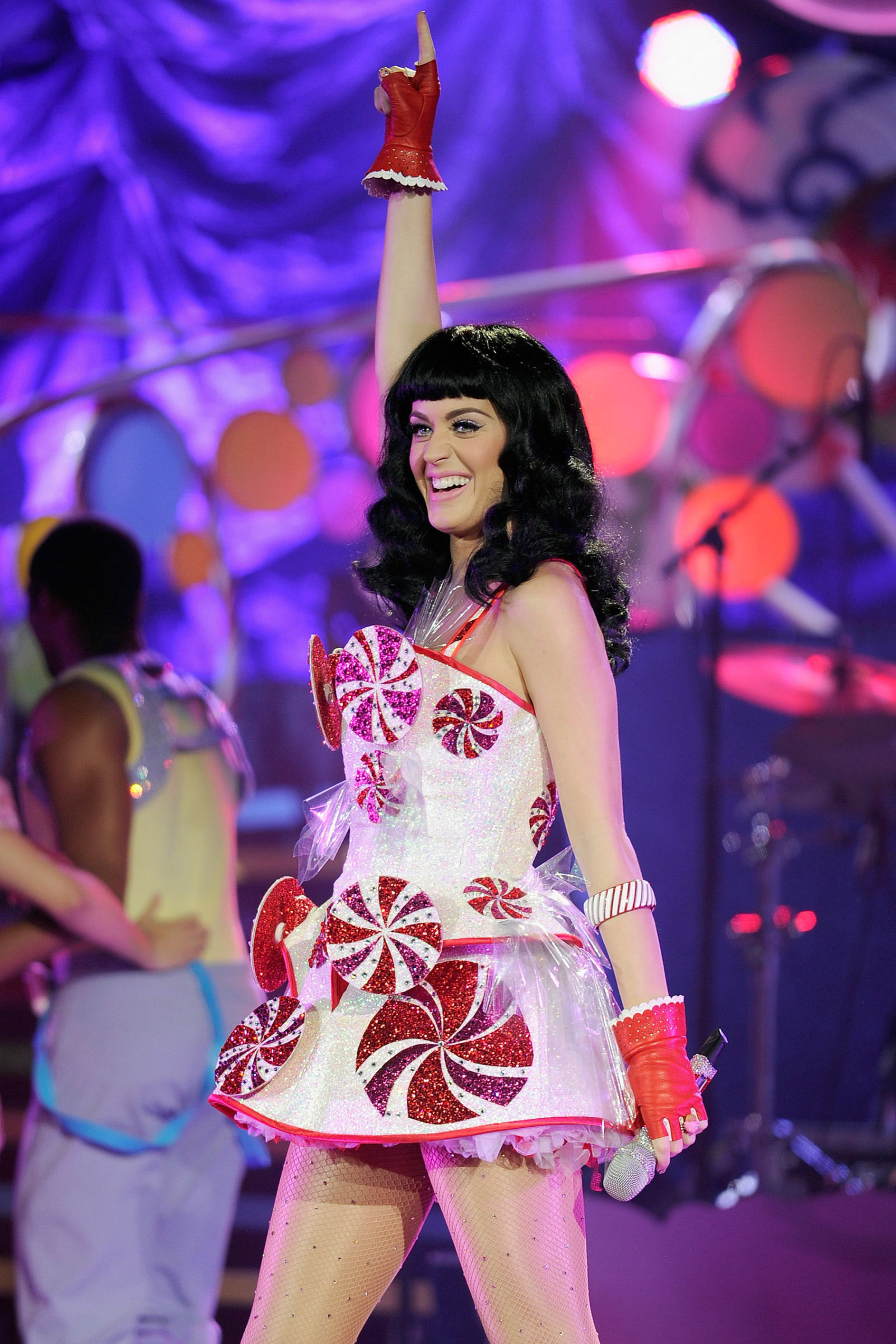 Katy Perry Dressed As Human Snack