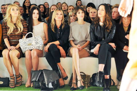 The Best Celebrity Front Row Photos Fashion Week Photos From The Front Row