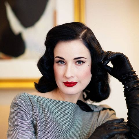 Dita Von Teese HD New frame pictures,wallpaper,resim poster