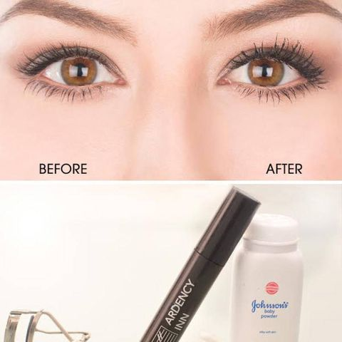 how to put on lashes without glue