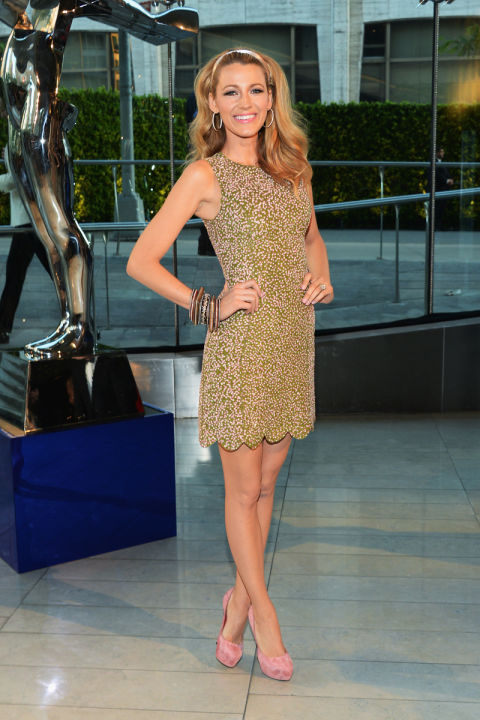 Blake Lively Style And Birthday Blake Lively Red Carpet Fashion