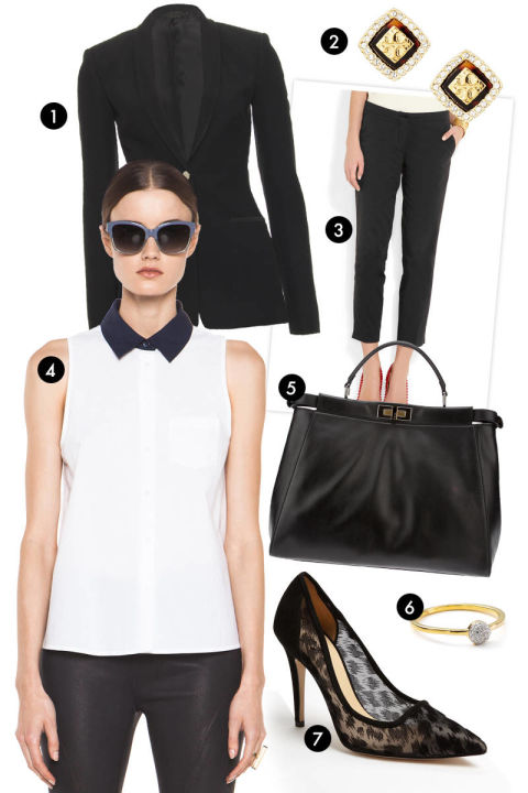 shows you mean business  Fashionable Business Attire For Young Women