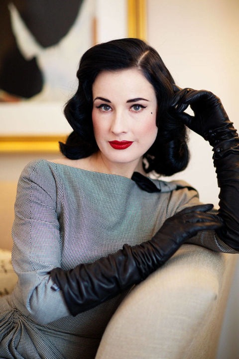 Dita Von Teese Reveals the Secrets Behind Her Morning ...