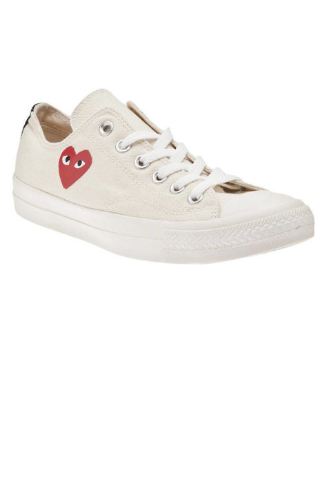 Converse x Comme des Garçons Sneakers, $94; farfetch.com