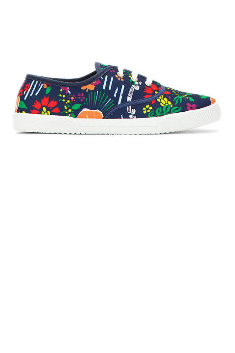 Maison Kitsune Printed Sneakers, $125 (on sale); ssense.com
