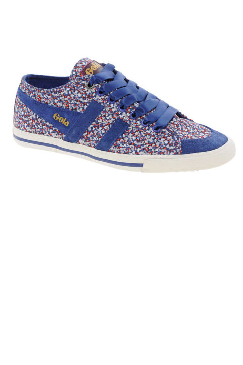Gola Liberty Blue Quota Printed Sneakers, $71.27 (on sale); asos.com