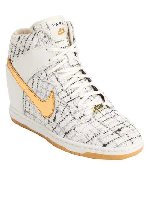 Nike Dunk Sky Hi Paris Sneakers, $225; barneys.com