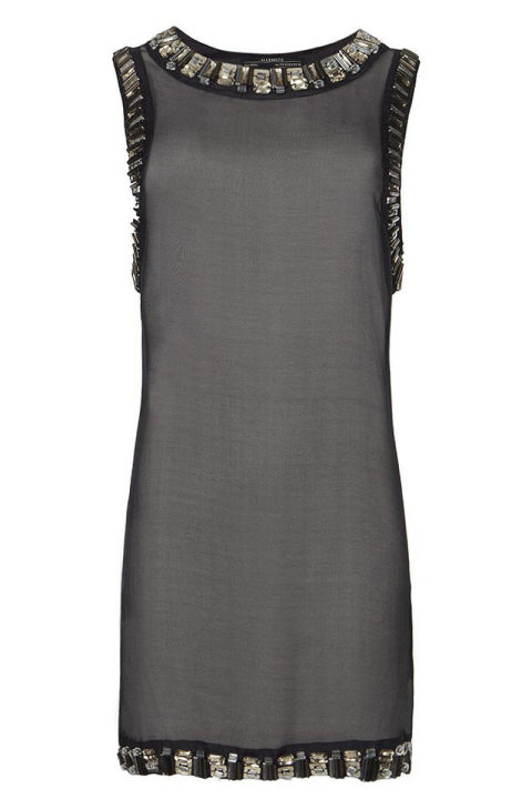 Best Dress For A Fall Outdoor Wedding AllSaints Josselin Dress