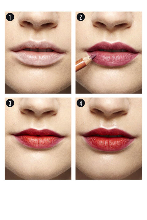 Step By Step Lip Makeup Application With Pictures - Mugeek Vidalondon