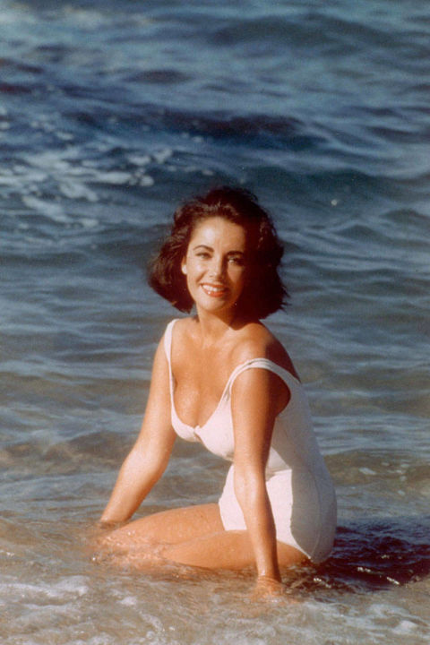 In the film version of Tennessee Williams' dark play, Elizabeth Taylor's character Catherine Holly is asked by her cousin to wear an alluring white maillot in order to attract his would-be paramours. Taylor ended up succeeding both onscreen, and off, where the image of her in this one-piece still endures to this day.
