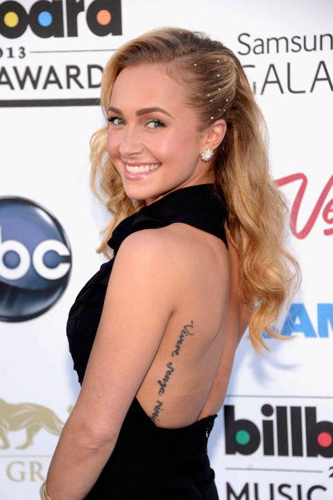 Hayden panettiere tattoo on wrist