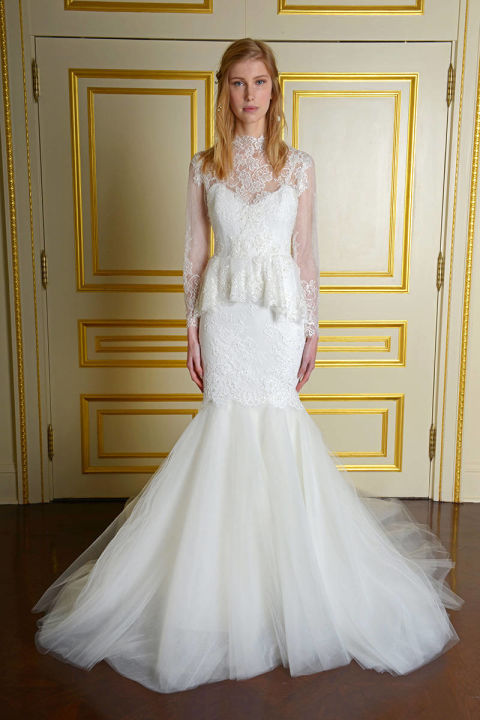 Wedding Dresses For Fall 2015 Marchesa
