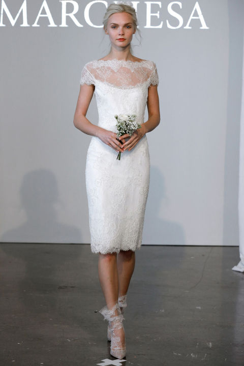 20 Gorgeous Short Wedding Dresses - Short Designer Wedding Gowns