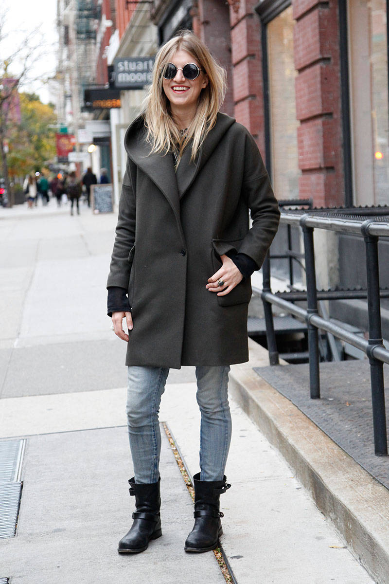 Winter Street Style Photos - Winter Coats Street Chic Photos