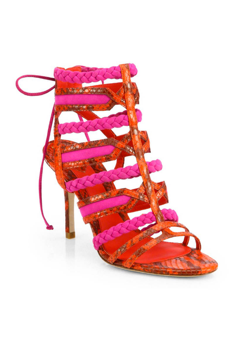Colorful High Heel Sandals For Spring Best High Heels