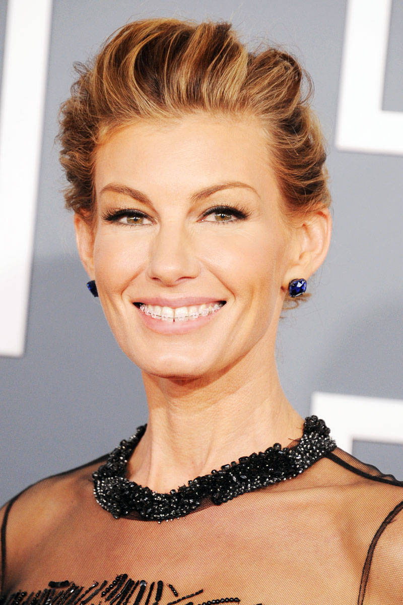 Famous Faces With Braces Faith Hill And More Celebrities