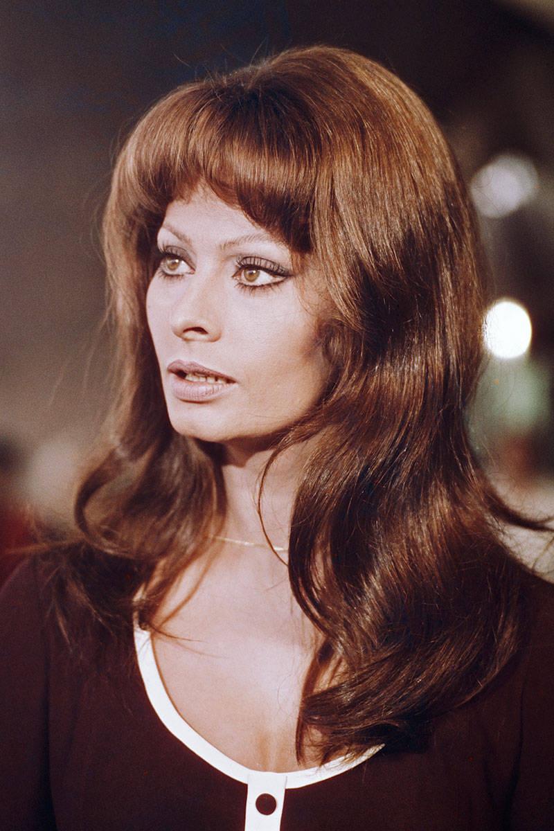 sophia loren archives serafino says - Sophia Loren Hair Color
