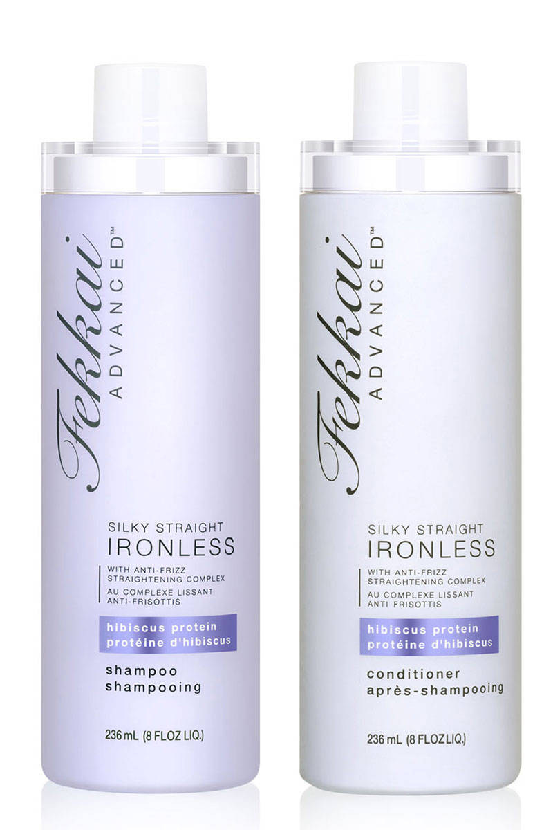 Shampoo straighten hair