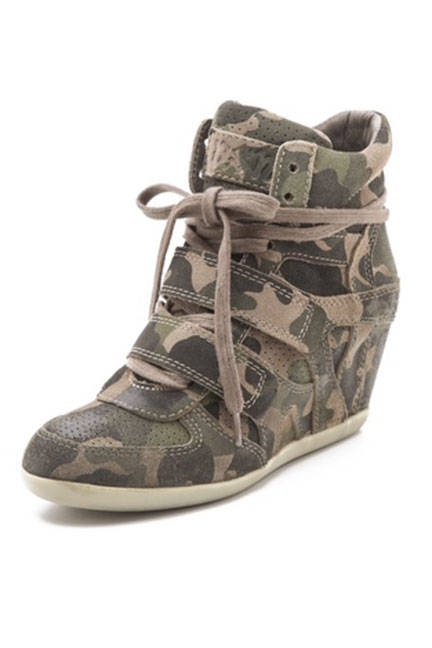 Ash Bea Wedge Sneakers, $250; shopbop.com