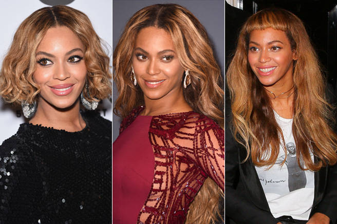 Queen Bey was the Queen of Hair Transformations this year (among many other things), demonstrating the power of extensions by switching up her signature mermaid waves almost weekly.