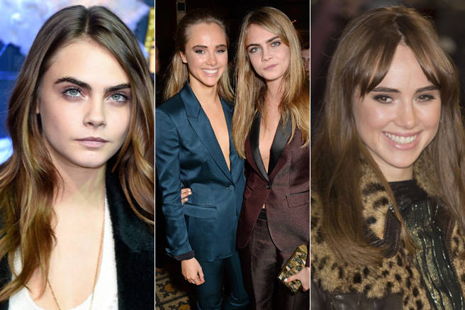 Two of the most sought after models from across the pond, Cara Delevingne and Suki Waterhouse, dabbled in darker waters (erm, dye) this year, but both have since gone back to blonde.