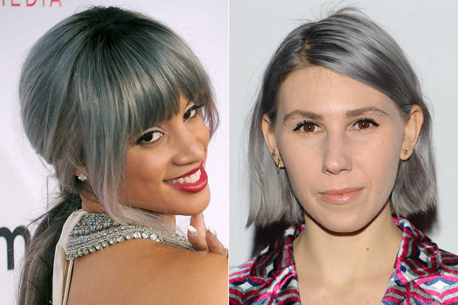 In one of the most surprisingly chic trends of the year, stars like Orange is the New Black's Dascha Polanco and Zosia Mamet of Girls went gray, by choice.