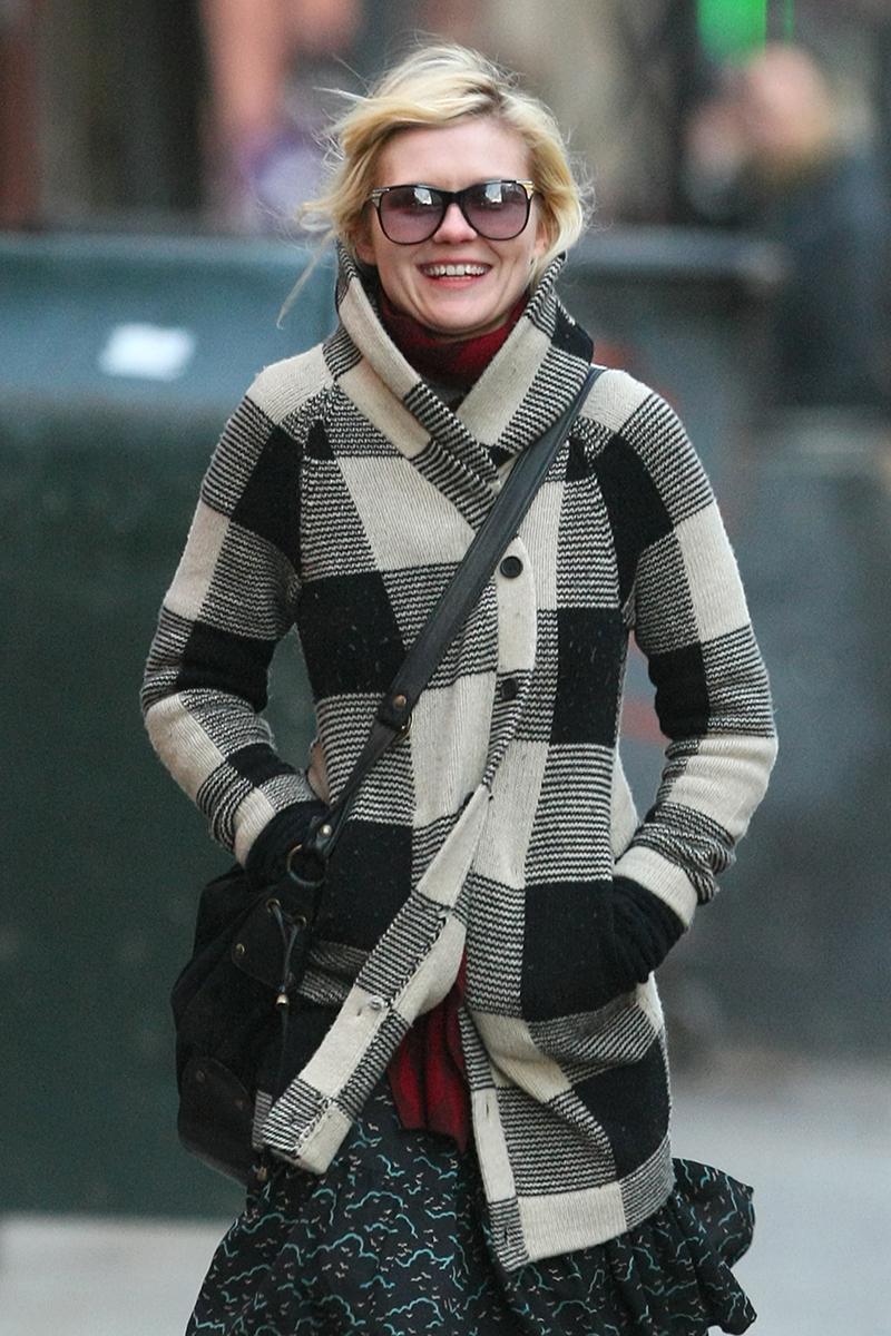 Celebrities on Winter Style - Kirsten Dunst, Kate Bosworth ...