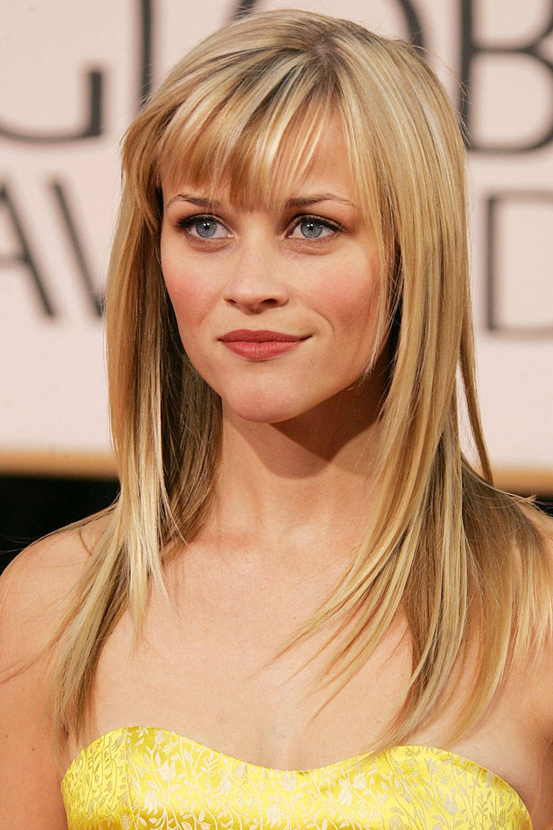 Super 27 Best Celebrity Bangs Through The Years Iconic Hairstyles With Hairstyles For Women Draintrainus