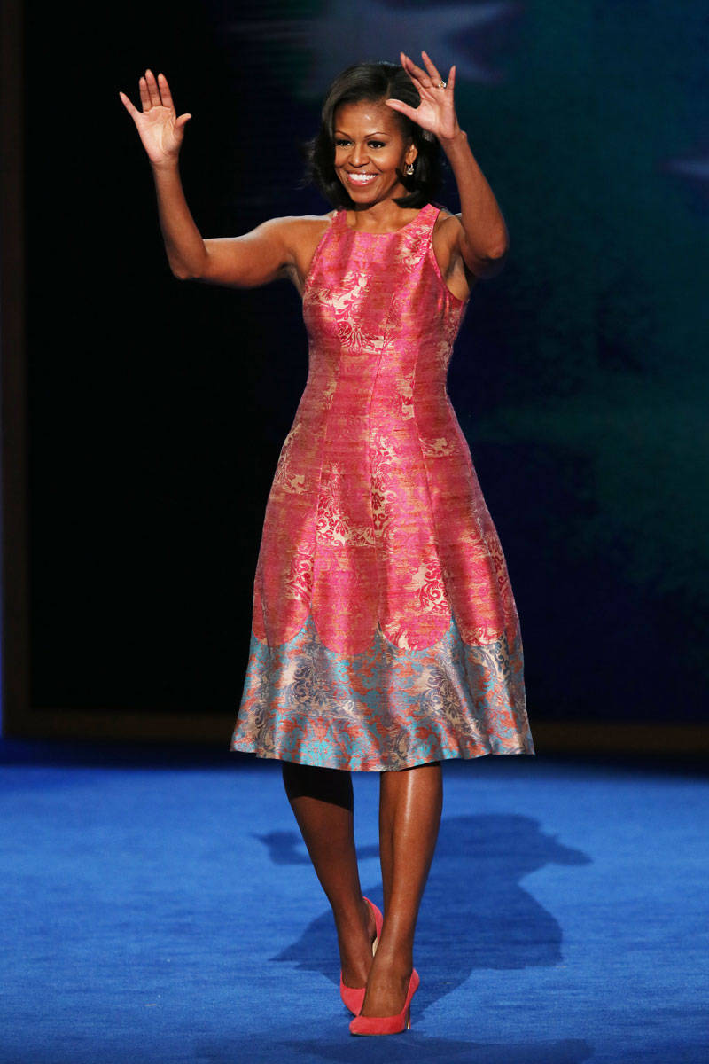 Resultado de imagem para michelle obama fashion