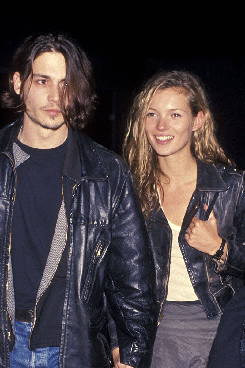 Johnny depp picture when he was dating kate moss lik