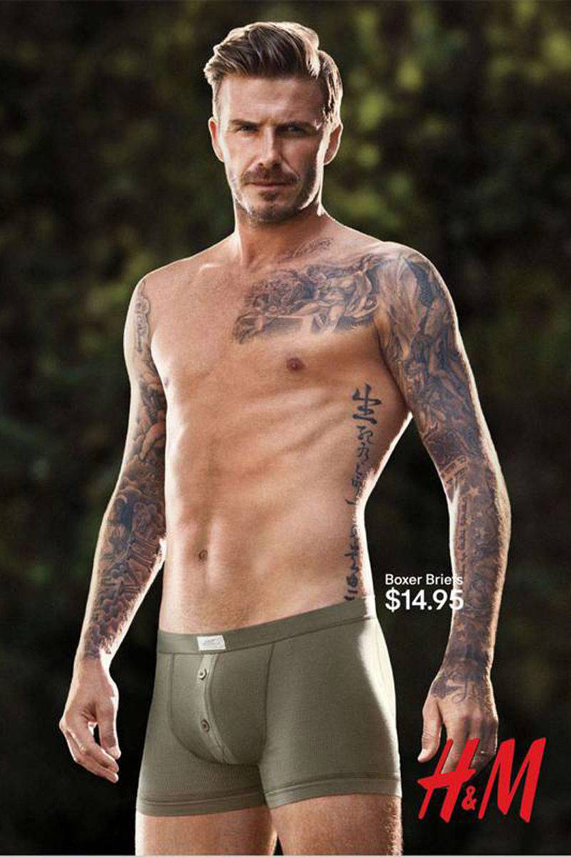 David Beckham Underwear H  M >> David Beckham Underwear Model of the Century-Superior Shirtlessness