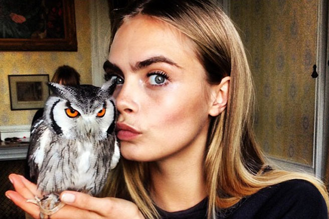 Cara Delevingne - Instagram Quotes