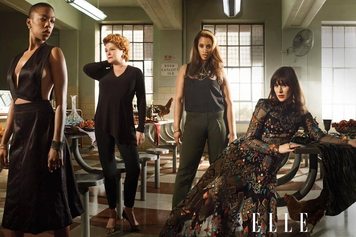39 orange is the new black 39 season two oitnb cast in spring fashion. Black Bedroom Furniture Sets. Home Design Ideas